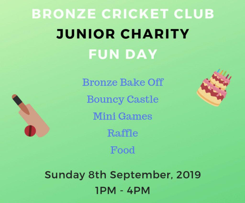 Bronze CC Junior Charity Fun Day 2019
