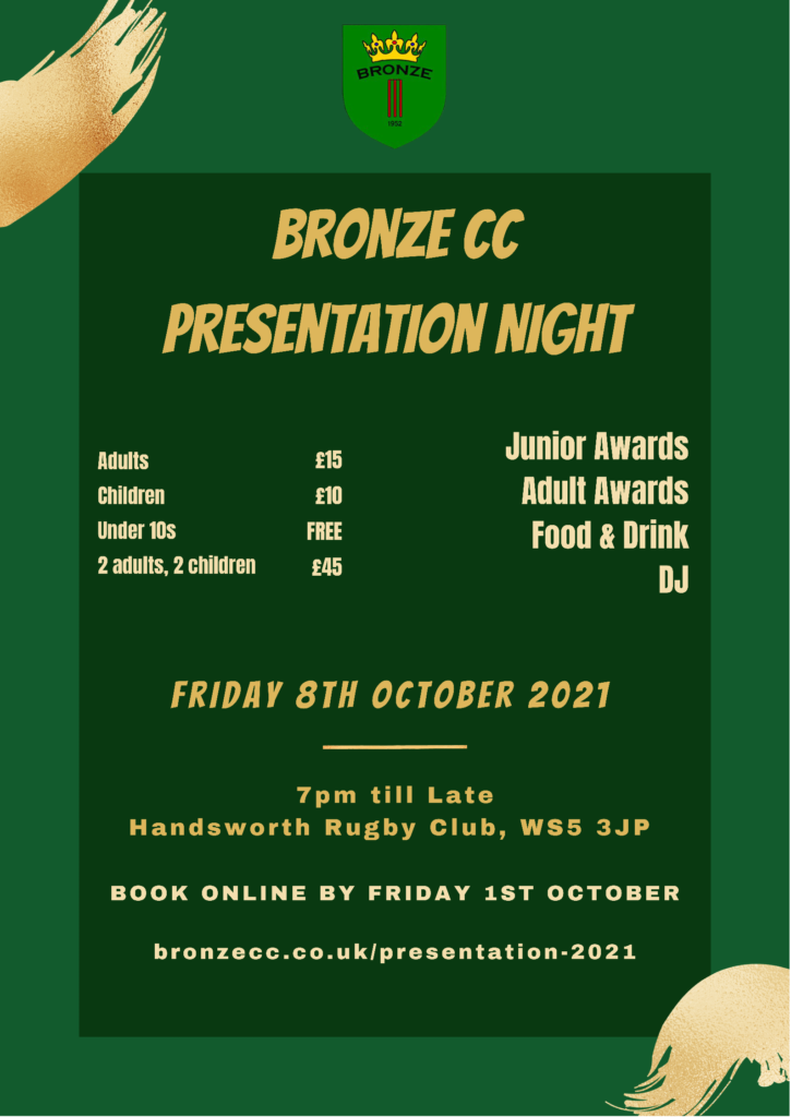 Annual Awards Evening 2021